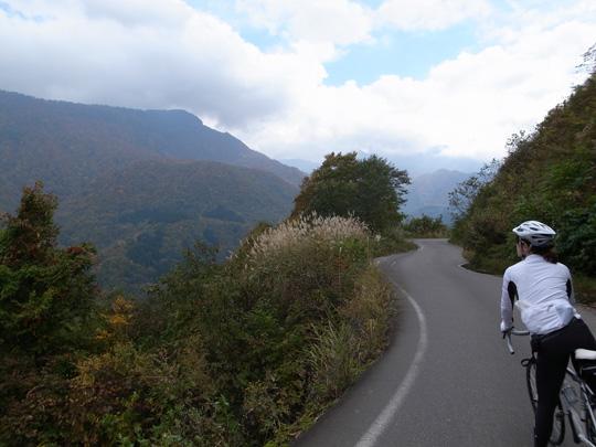 秋山郷紅葉サイクリング(その1)13