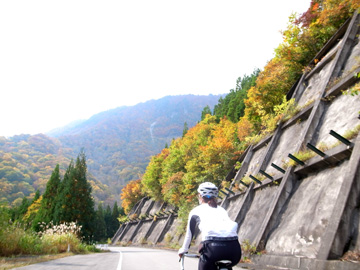 秋山郷紅葉サイクリング(その1)15