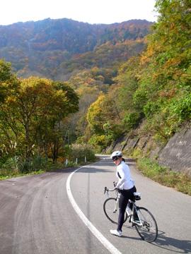 秋山郷紅葉サイクリング(その1)16