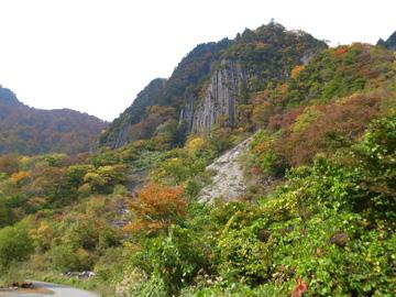 秋山郷紅葉サイクリング(その1)18