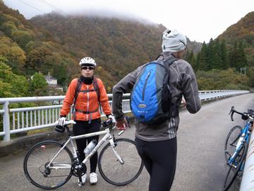 秋山郷紅葉サイクリング(その2)103