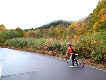 秋山郷紅葉サイクリング(その2)106