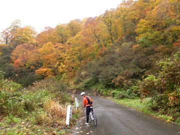 秋山郷紅葉サイクリング(その2)108
