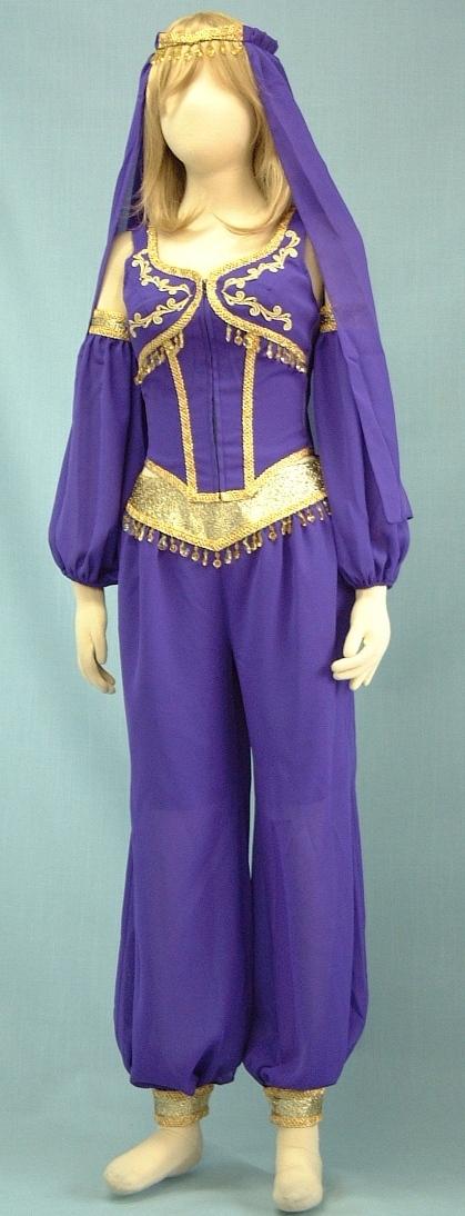 アラビアンダンサー(パン)紫