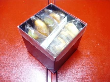 焼き菓子サンプル