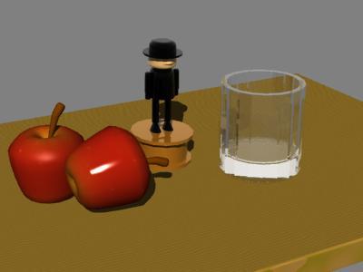 テーブルの静物1