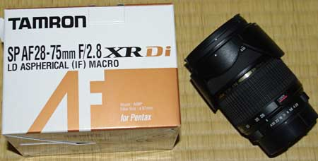 TAMRON MODEL A09 SP AF28-75mm F/2.8 XR Di LD Aspherical [IF] MACRO