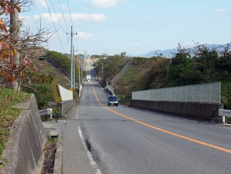 紀ノ川広域農道・ジェットコースター区間