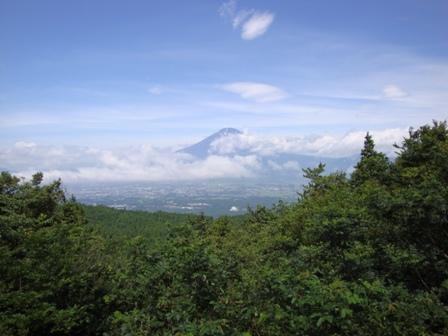 090726金時へ向かう道からの富士