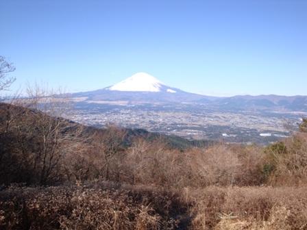091220丸鉢山からの富士