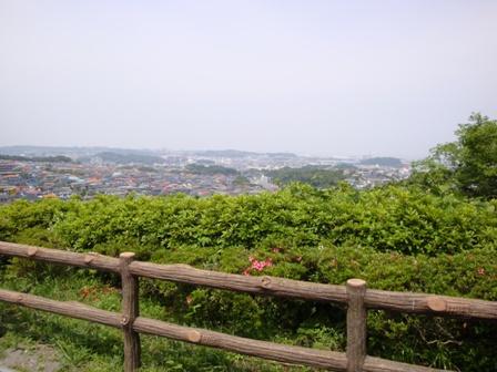 100522鷹取山公園からの眺め
