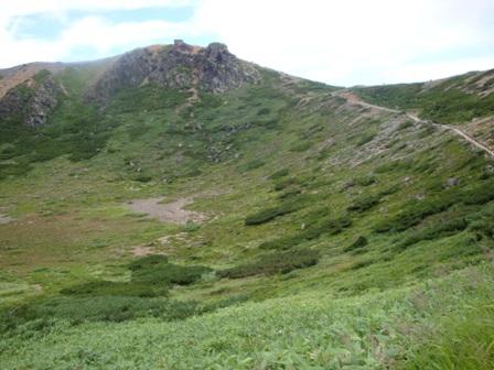 100807白根山の峰