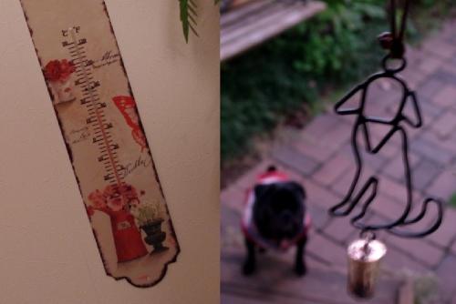 111213温度計とアイアンベル