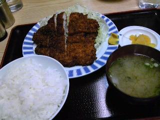 たぬき チキンカツ定食01