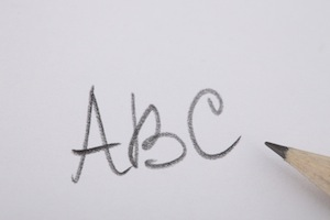 sb ABC writing