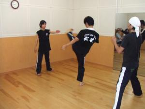 0903の練習(ストレッチ)