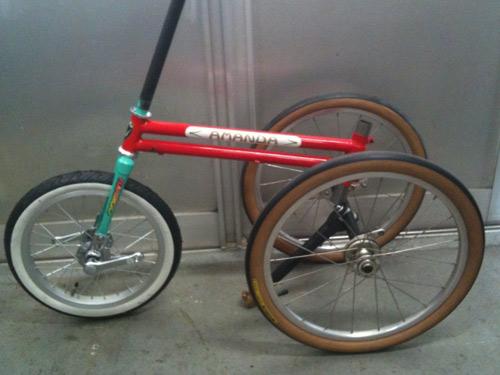 アマンダ三輪車
