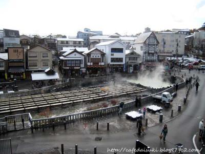 草津の景色(`09シーズンの初雪)