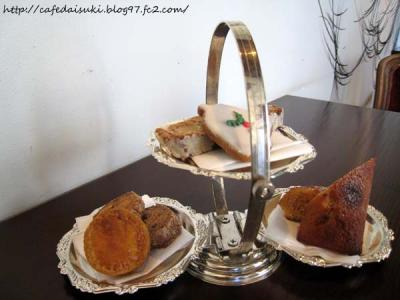 Las Luces◇Xmas special tea set(焼き菓子の盛り合わせ)