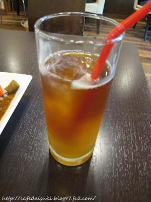 Cafe 豆うさぎ◇アイスオレンジティ