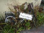 ねじまき雲◇店外(看板代わりの自転車)