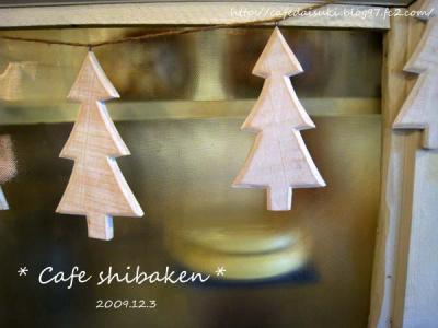 Cafe shibaken◇店内雑貨(クリスマス仕様)
