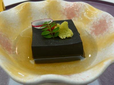 黒胡麻の豆腐