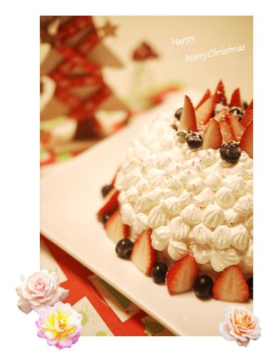 25 クリスマスケーキ コラージュ