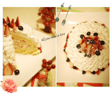 25 クリスマスケーキ2