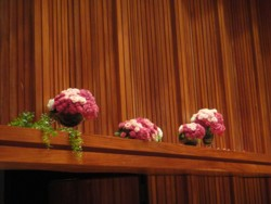 コンサート舞台装花1