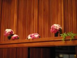 コンサート舞台装花2