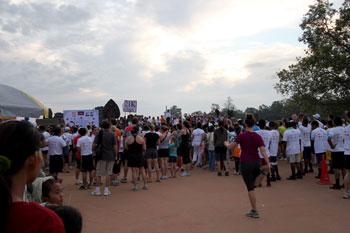 アンコールワットハーフマラソン1
