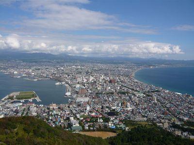 函館 昼景 2010