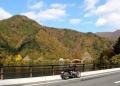 奥多摩周回道路 峰谷橋