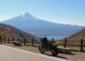 御坂峠からの富士山と河口湖
