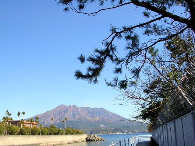 川口から桜島