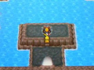 滝の洞窟 内部