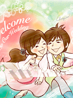 Happy Wedding(c)ちょこじろー