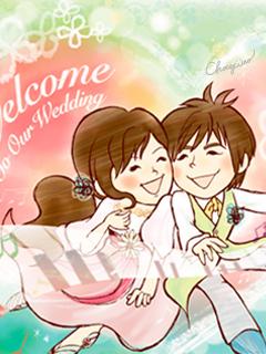 オーダーメイド結婚ウェルカムボード