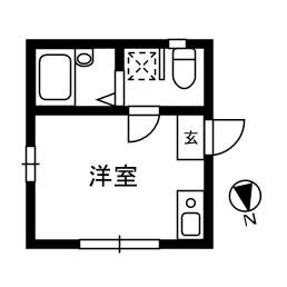 シャンテお花茶屋 1-1