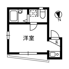 シャンテお花茶屋 2-1