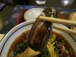 牡蠣の揚げ出しセイロ 茄子@やま賀さん