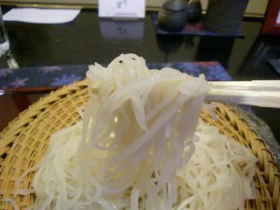 牡蠣の揚げ出しセイロ そばあっぷ@やま賀さん