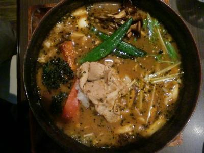 ハーブ豚しゃぶと7種きのこの森 スープ@GARAKUさん