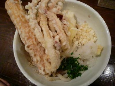 さぬき(ぶっかけ)@まんでがん製麺所さん