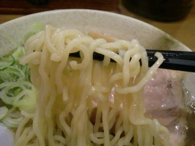 こいにぼ 味噌 縮れ麺@なかじまさん