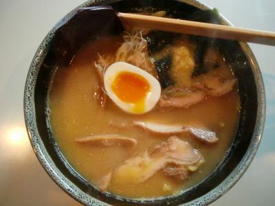 鶏白湯麺(味噌)@銀座こんぱるさん