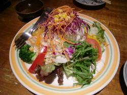 野菜サラダ@鳥太郎さん