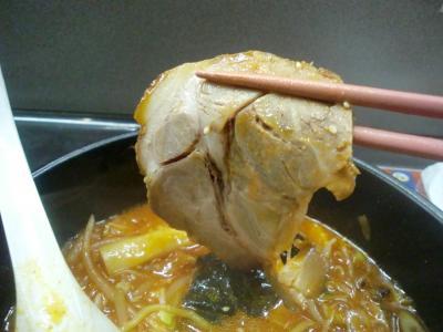 ユッケジャンラーメン 叉焼@麺屋 サスケさん