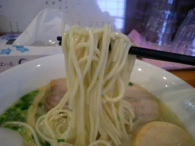 鶏白湯 塩 自家製麺@菜々兵衛さん